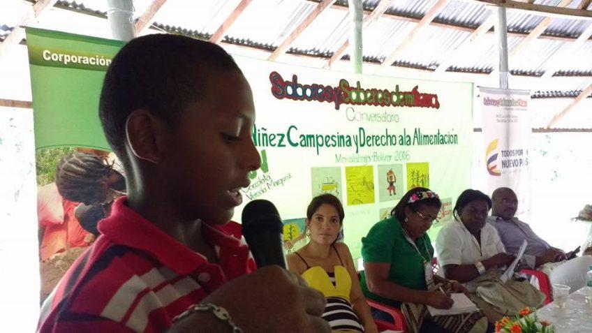 Carta de la niñez campesina de Marialabaja a sus autoridades locales