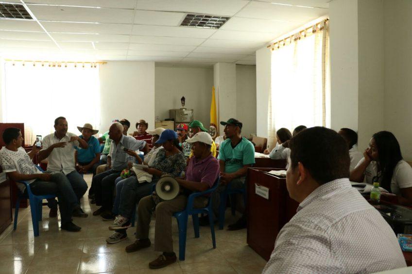 Estos son los acuerdos logrados durante la marcha campesina en Mahates Bolívar.