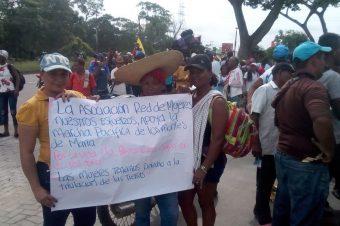 Ongs y plataformas de Derechos Humanos manifiestan su respaldo a Caminata Pacífica en Montes de María