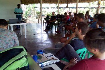 Participantes de la Escuela de gestión territorial de Montes de María comenzaran la caracterización de dos ecosistemas estratégicos