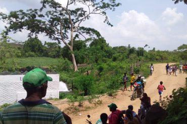 Por falta de agua y el uso irracional del recurso comunidades campesinas de Montes de María cierran nuevamente las compuertas del Distrito de Riego