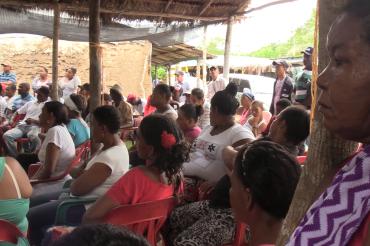 Se firman Acuerdos por el agua entre arroceros y comunidades en Montes de María